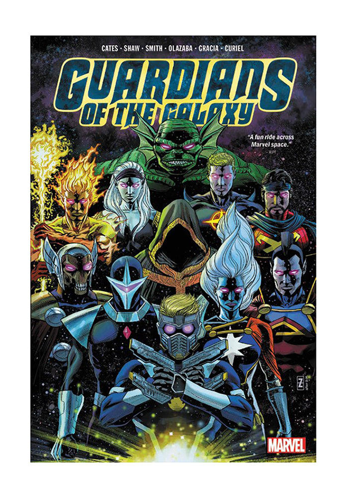 MARVEL COMICS Guardians of the Galaxy by Donny Cates Hardcover Graphic Novel