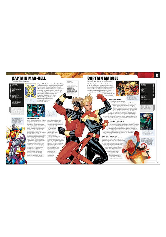 MARVEL COMICS Marvel Encyclopedia New Edition