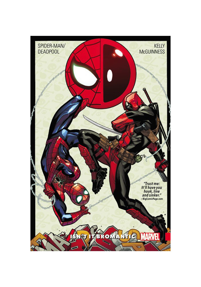 MARVEL COMICS Spider-Man/Deadpool Vol. 1: Isn't It Bromantic Graphic Novel