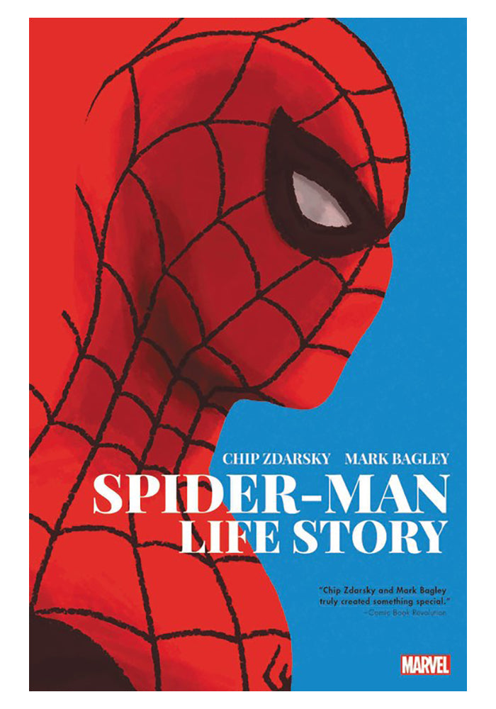 MARVEL COMICS Spider-Man: Life Story Graphic Novel
