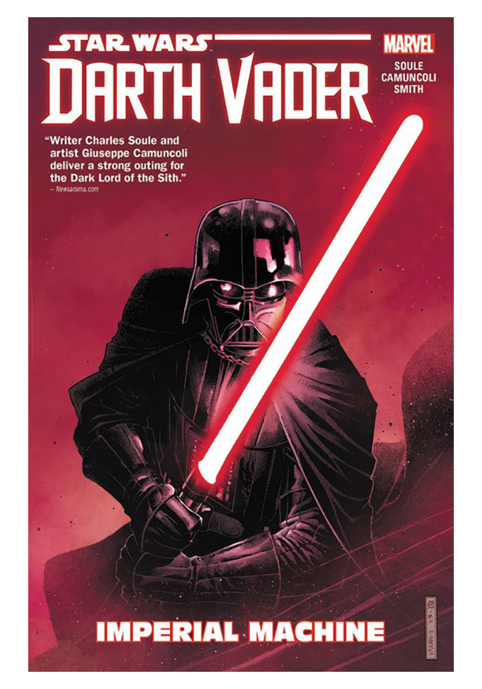 MARVEL COMICS Star Wars: Darth Vader: Dark Lord Of The Sith Vol. 1: Imperial Machine Graphic Novel