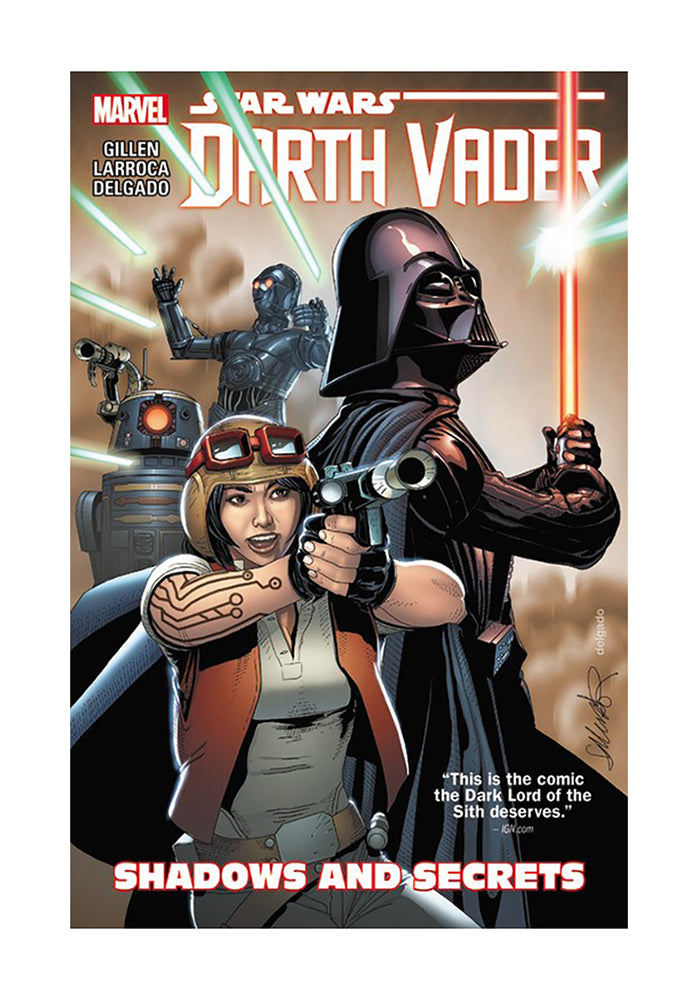 MARVEL COMICS Star Wars: Darth Vader Vol. 2 - Shadows and Secrets Graphic Novel