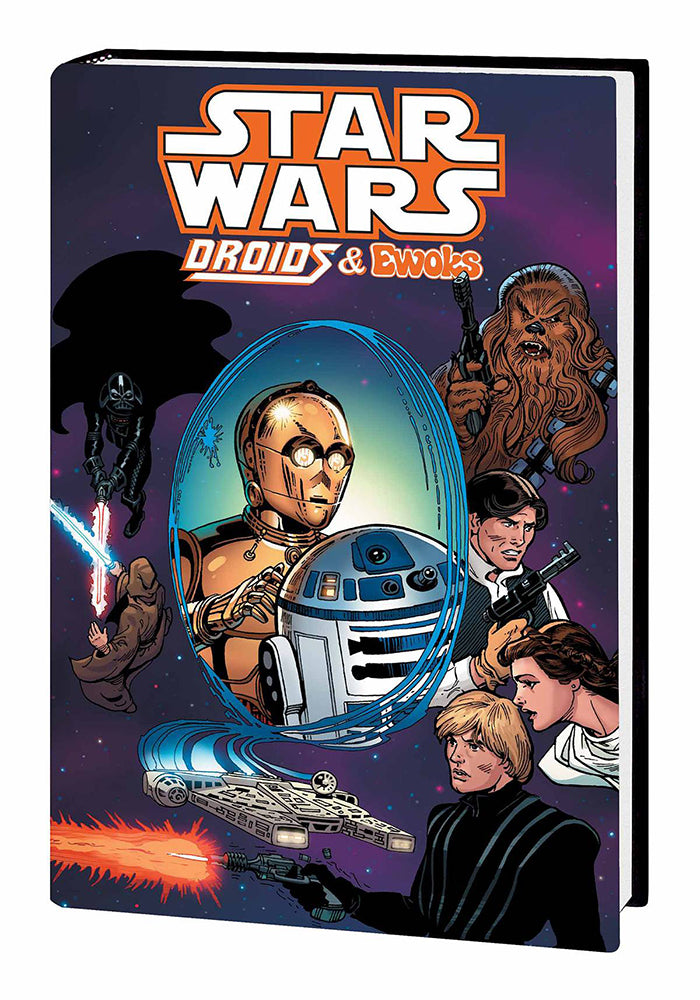 MARVEL COMICS Star Wars: Droids & Ewoks Omnibus Hardcover Graphic Novel