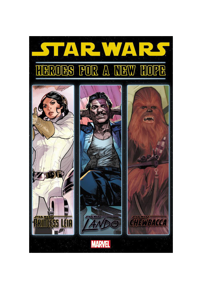 MARVEL COMICS Star Wars: Heroes For a New Hope Hardcover Graphic Novel