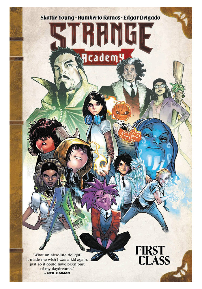 MARVEL COMICS Strange Academy: First Class Graphic Novel