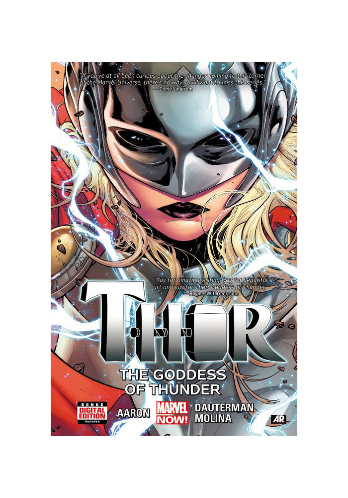 MARVEL COMICS Thor Vol. 1: Goddess Of Thunder Hardcover Graphic Novel