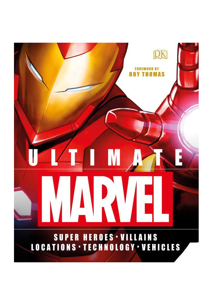 MARVEL COMICS Ultimate Marvel: Super Heroes Villains Locations Technology