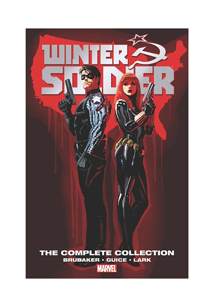 MARVEL COMICS Winter Soldier by Ed Brubaker: The Complete Collection Graphic Novel