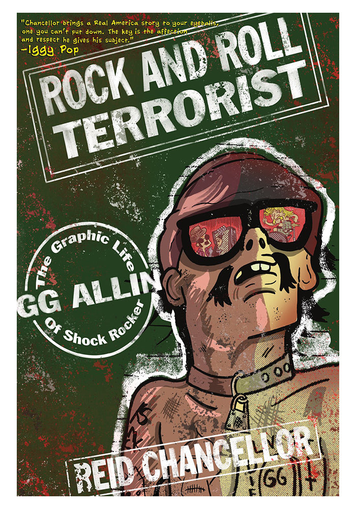 MICROCOSM PUBLISHING Rock and Roll Terrorist: The Graphic Story of GG Allin Graphic Novel