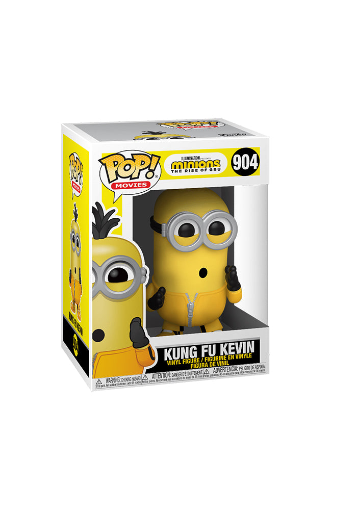MINIONS Funko Pop! Movies: Minions 2 The Rise of Gru - Kung Fu Kevin