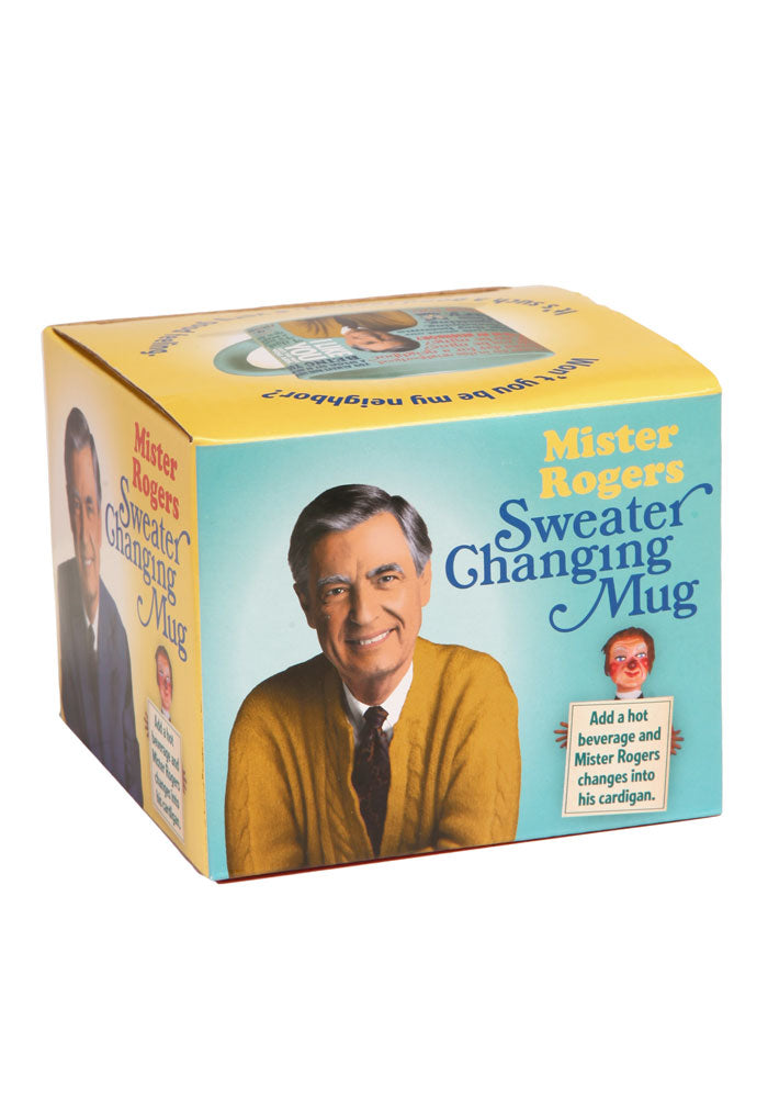 MISTER ROGERS Mister Rogers Sweater Heat Changing Mug
