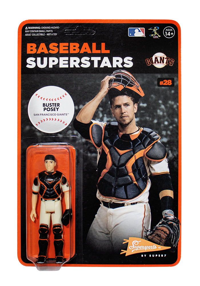 MLB MLB Modern Wave 1 ReAction Figure - Buster Posey (San Francisco Giants)