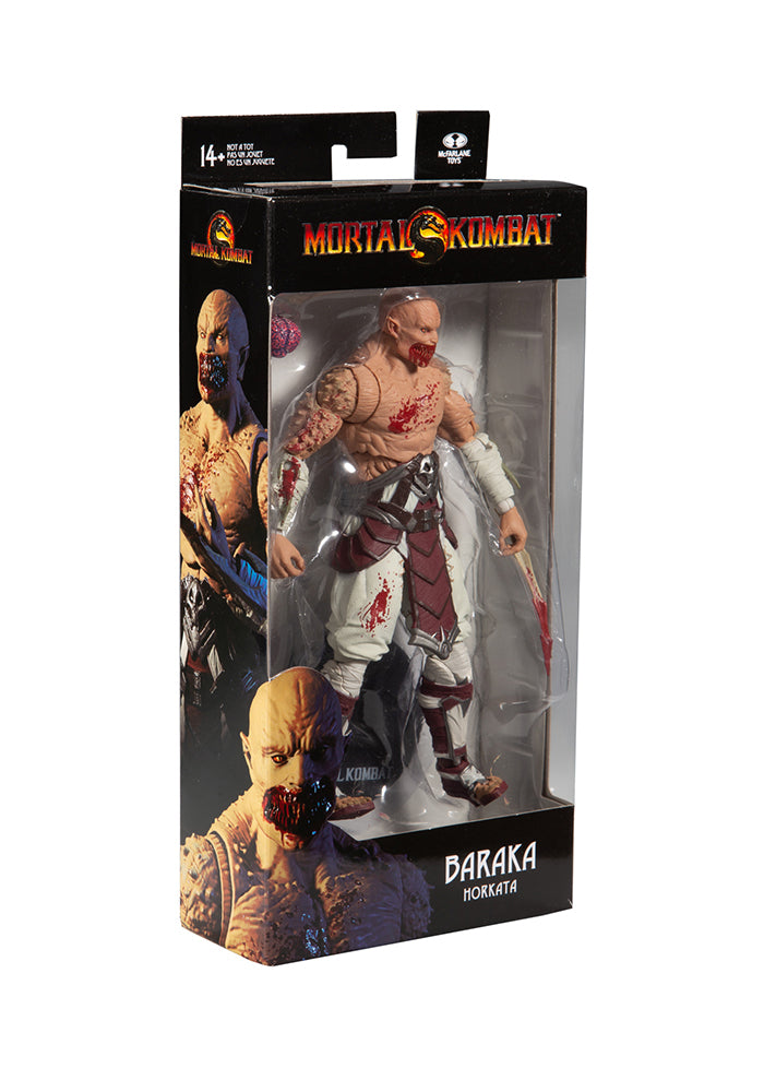 MORTAL KOMBAT Mortal Kombat Video Game 7-Inch Action Figure - Baraka (Bloody Horkata)