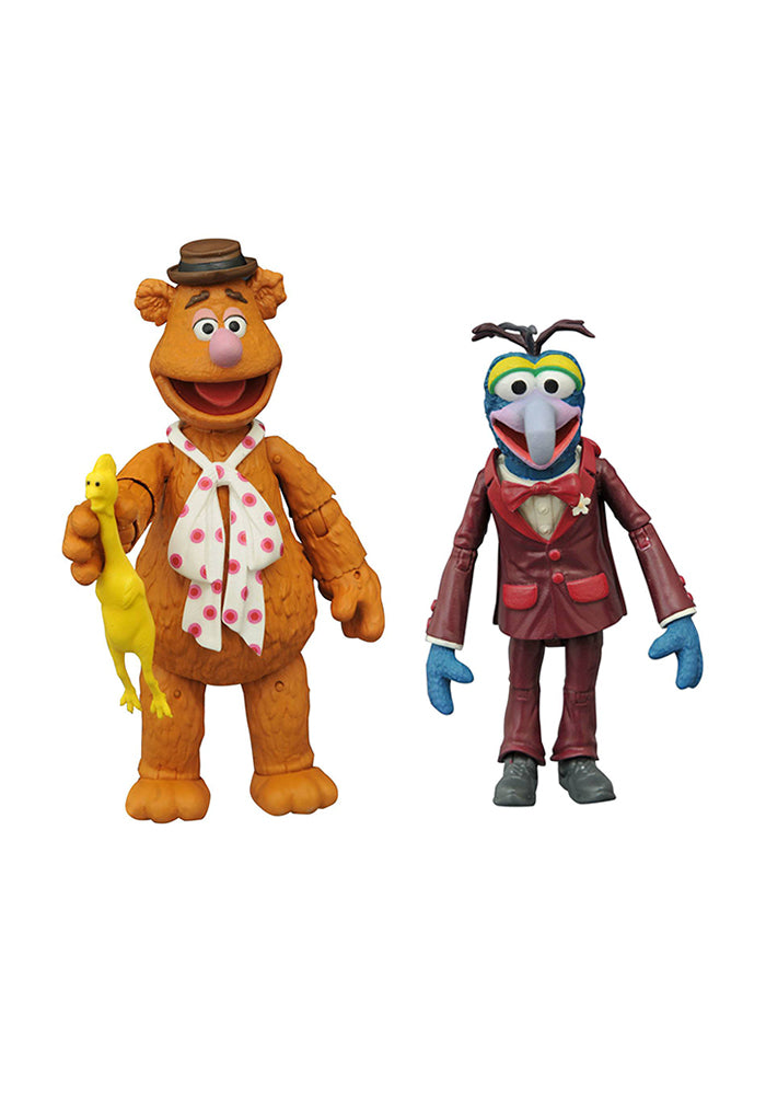 MUPPETS Muppets Select 7-Inch Scale Action Figure 2-Pack - Fozzie & Gonzo