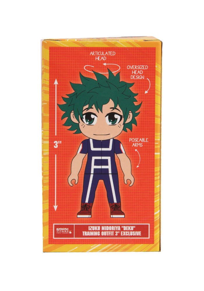 MY HERO ACADEMIA Kawaii Titans - Deku Training Outfit Figure