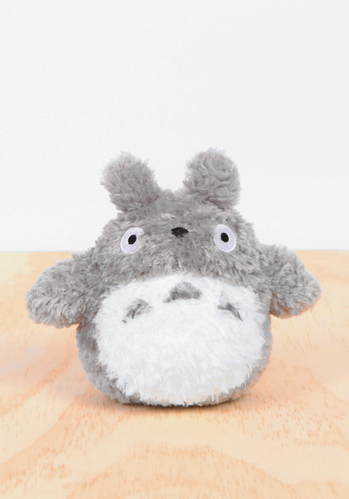 "MY NEIGHBOR TOTORO Fluffy Totoro Grey 6"" Plush"