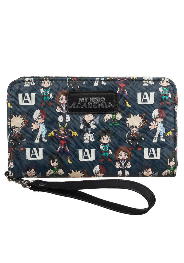 MY HERO ACADEMIA Chibi Characters Tech Wallet