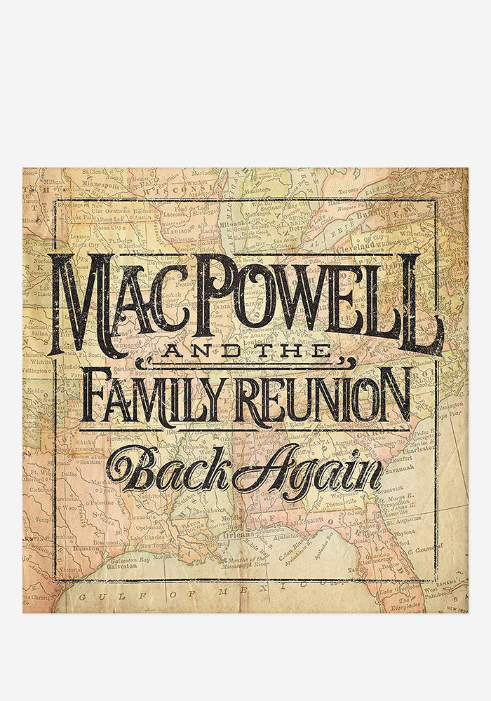 MAC POWELL AND THE FAMILY REUNION Back Again CD (Autographed)