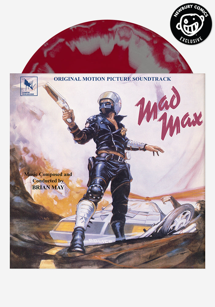 brian may soundtrack mad max exclusive lp color vinyl newbury comics