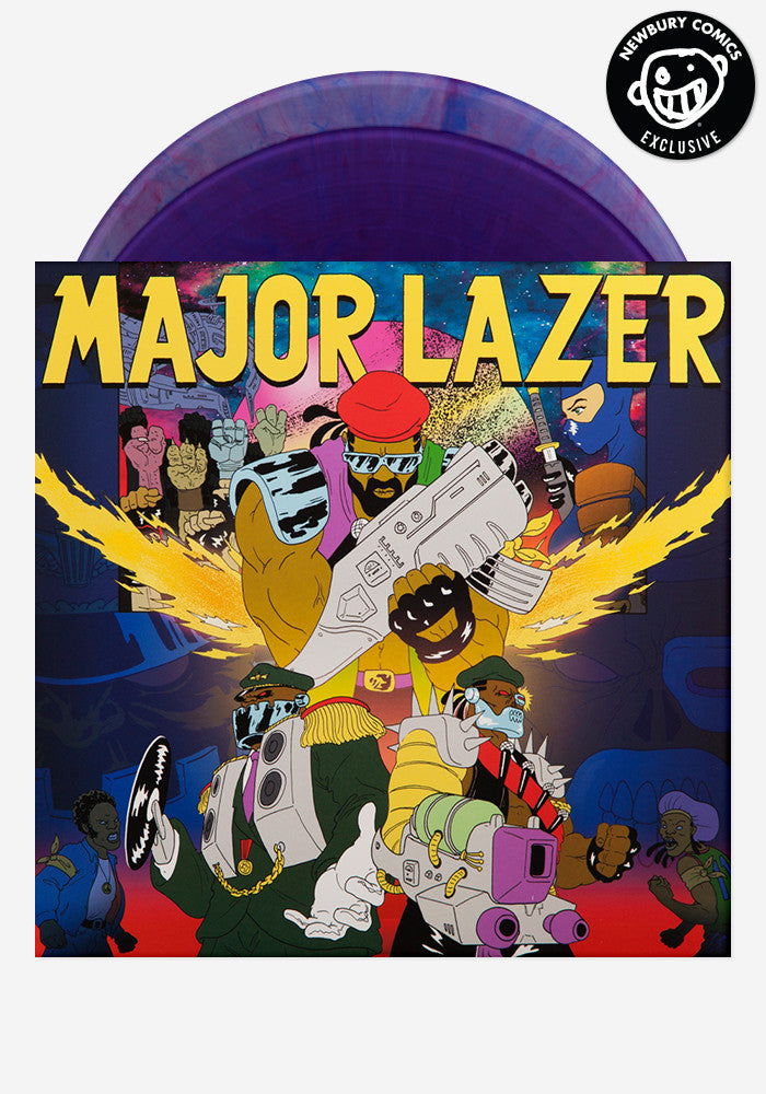 MAJOR LAZER Free The Universe Exclusive 2 LP