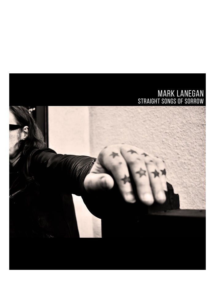 MARK LANEGAN Straight Songs Of Sorrow CD (Autographed Bookmark)