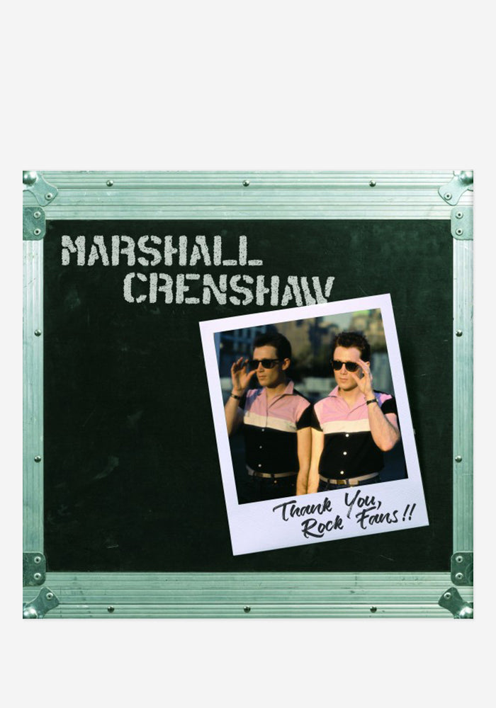MARSHALL CRENSHAW Thank You Rock Fans!! LP