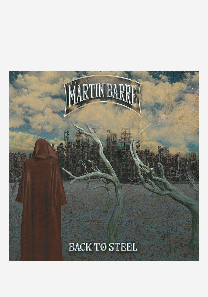 MARTIN BARRE Back To Steel Expanded Edition CD (Autographed)