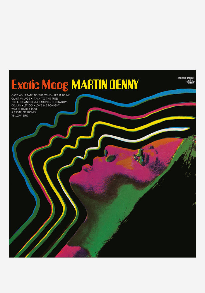 MARTIN DENNY Exotic Moog LP (Color)