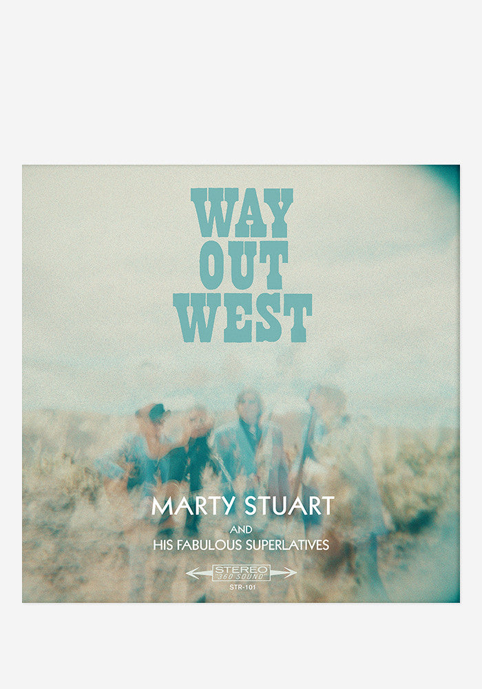 MARTY STUART AND HIS FABULOUS SUPERLATIVES Way Out West With Autographed CD Booklet