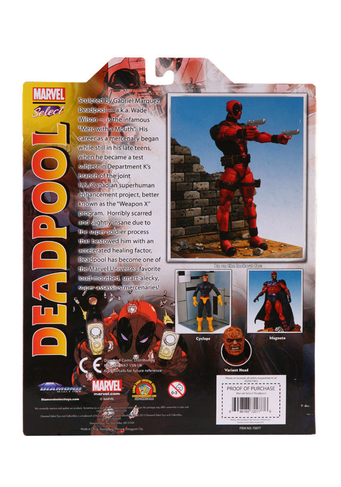 DEADPOOL Marvel Select Deadpool Figure