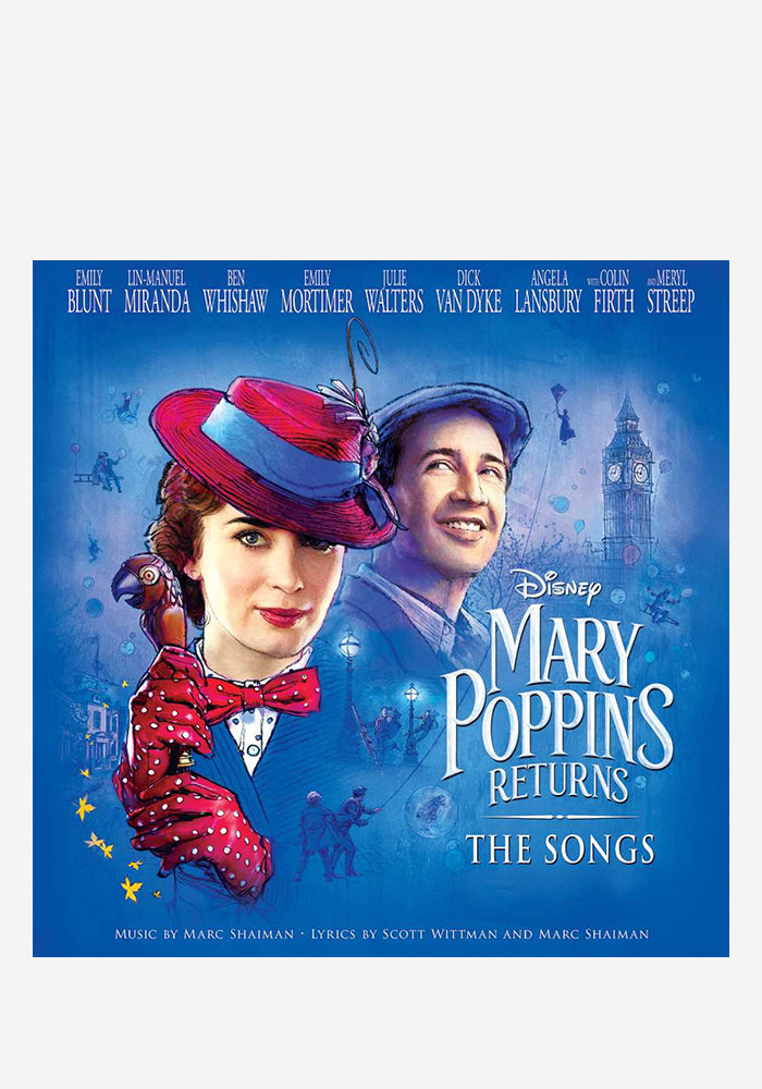 VARIOUS ARTISTS Soundtrack - Mary Poppins Returns: The Songs LP