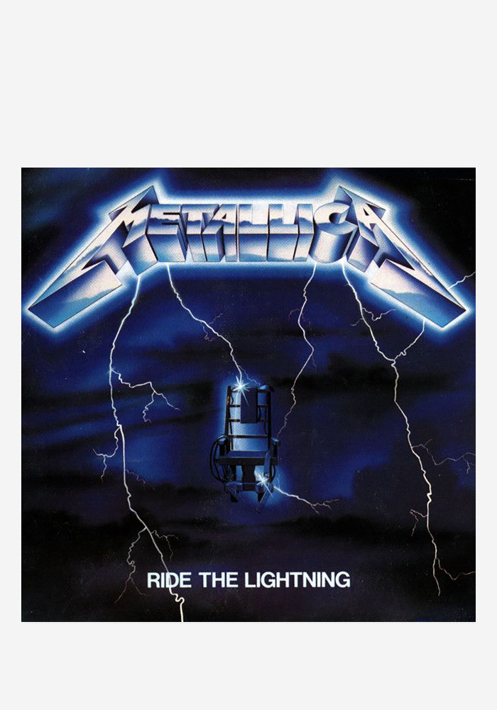 METALLICA Ride The Lightning LP