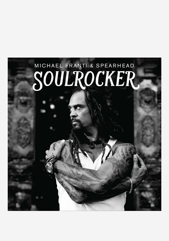 MICHAEL FRANTI & SPEARHEAD Soulrocker With Autographed CD Booklet