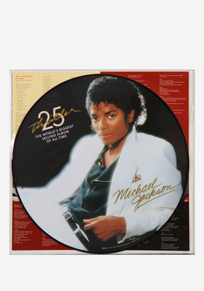 MICHAEL JACKSON Thriller LP Picture Disc