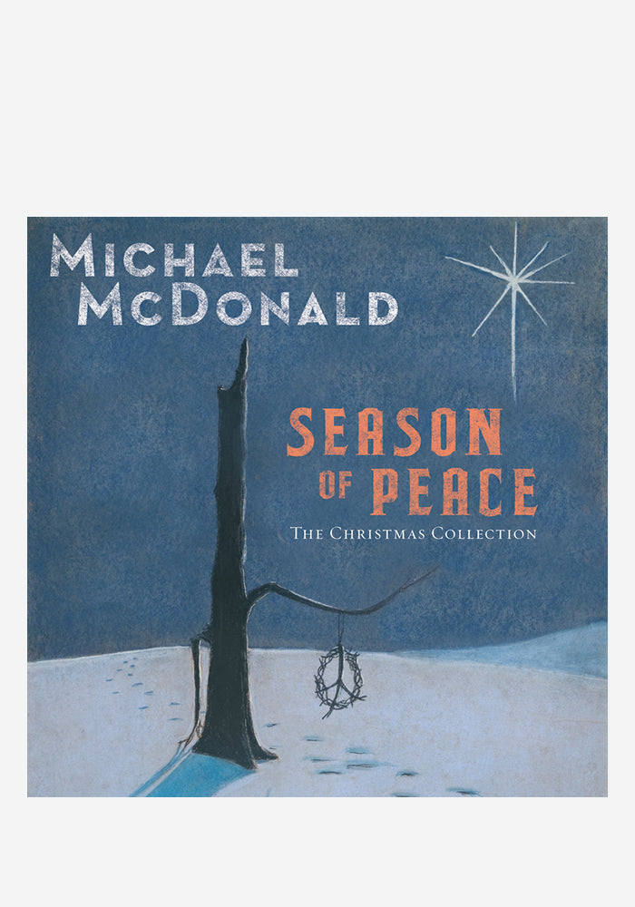 MICHAEL MCDONALD Season Of Peace - The Christmas Collection CD With Autographed Postcard