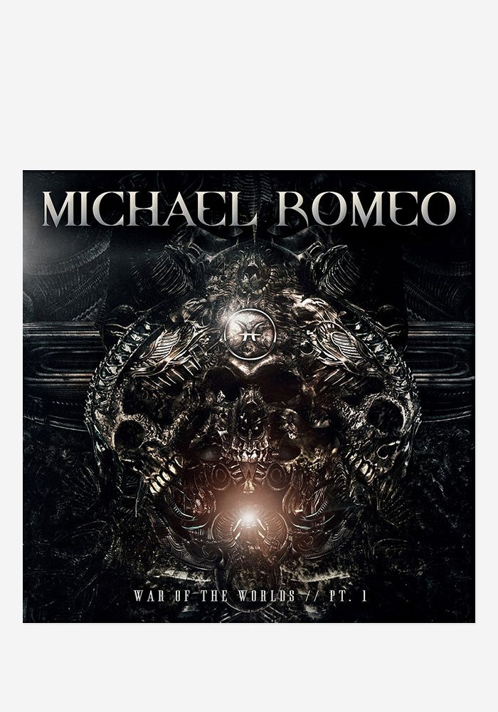 MICHAEL ROMEO War Of The Worlds Pt. 1 CD With Autographed Booklet