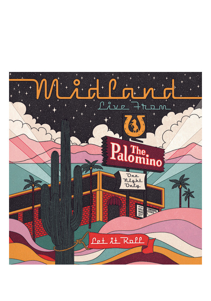 MIDLAND Live From The Palomino 2LP
