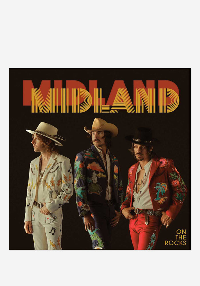 MIDLAND On The Rocks With Autographed CD Booklet