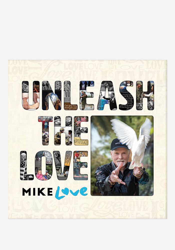 MIKE LOVE Unleash The Love 2 CD With Autographed Tray Card
