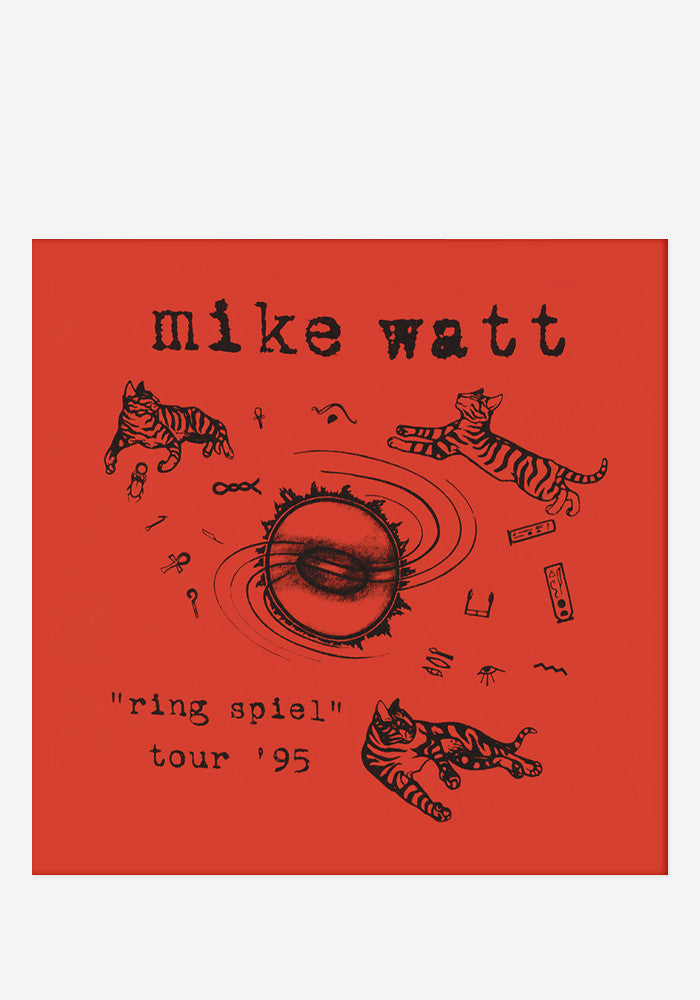 MIKE WATT Ring Spiel Tour '95 With Autographed CD Booklet