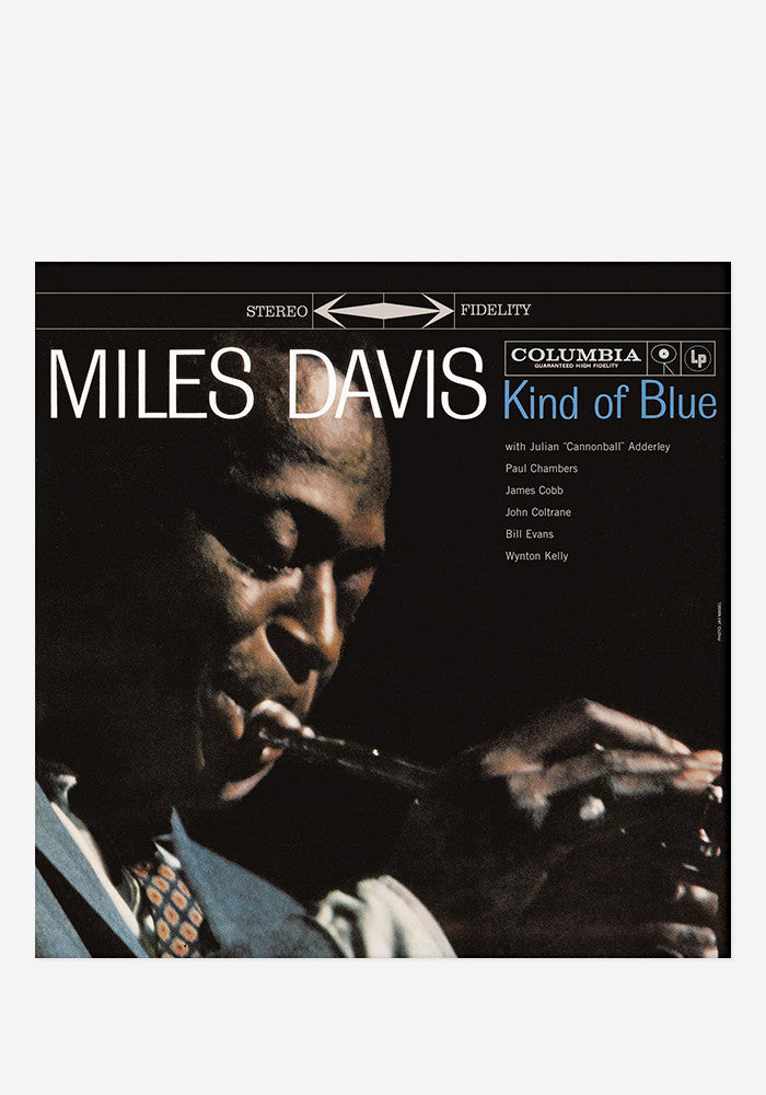 Miles Davis Kind Of Blue Lp Vinyl Newbury Comics