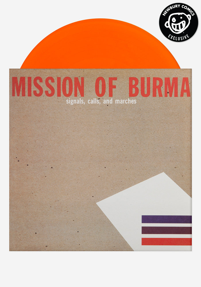 MISSION OF BURMA Signals, Calls, And Marches Exclusive LP