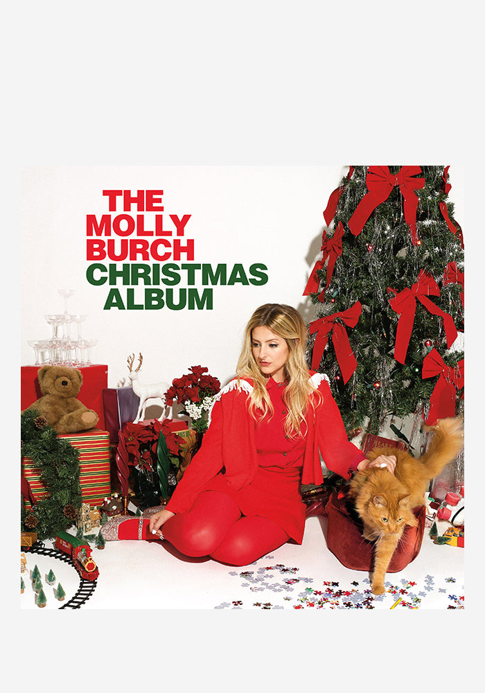 MOLLY BURCH The Molly Burch Christmas Album LP (Color) (Autographed)