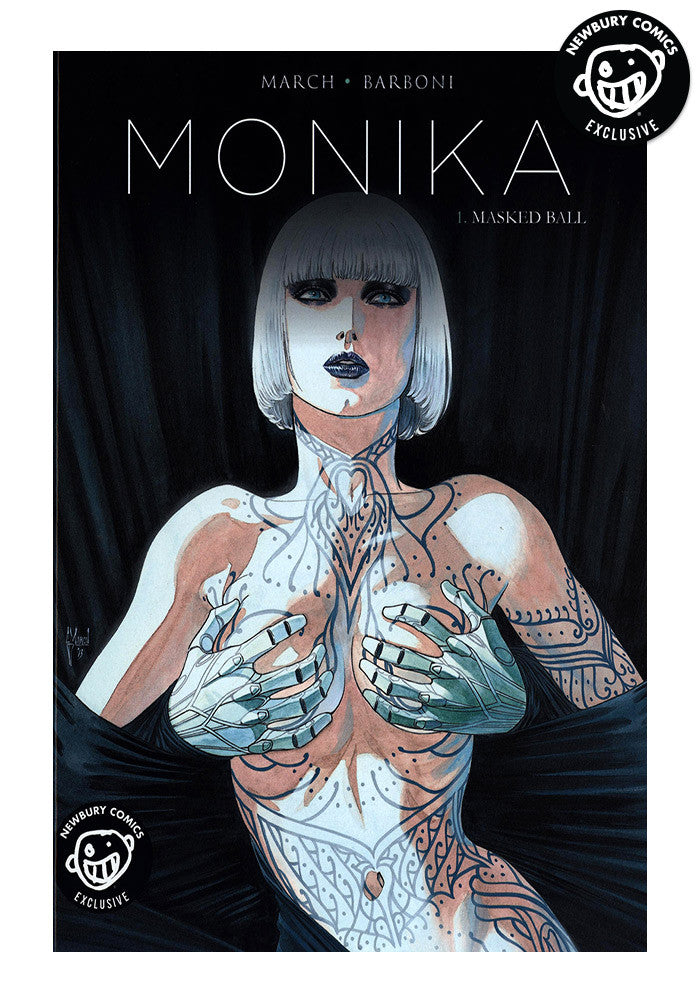 TITAN COMICS Monika Vol. 1 Masked Ball Graphic Novel
