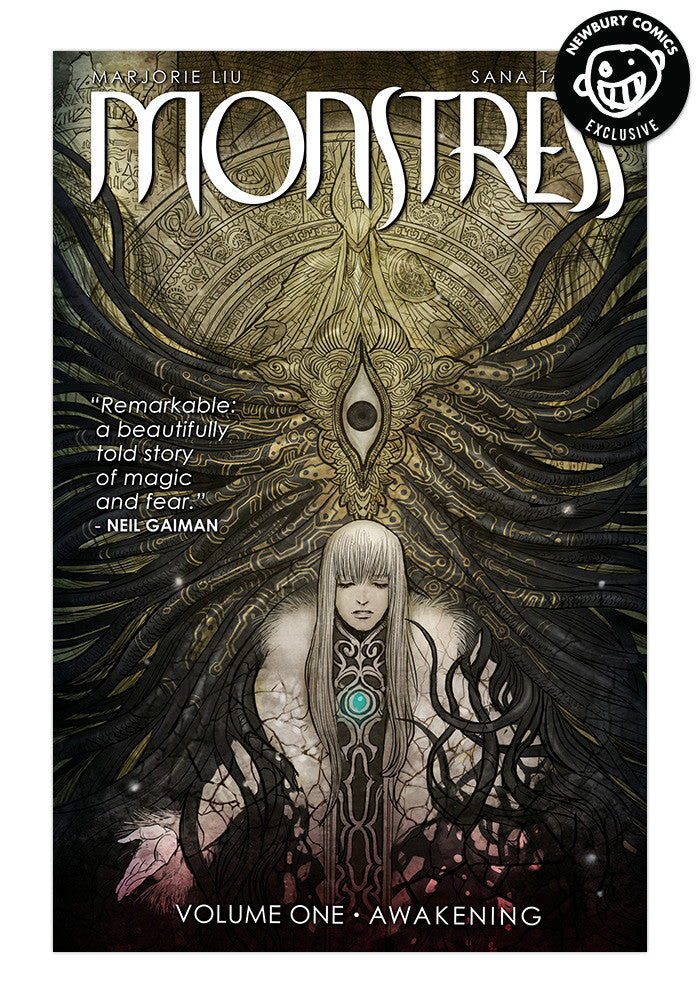 IMAGE COMICS Monstress Vol. 1 Exclusive Variant Graphic Novel