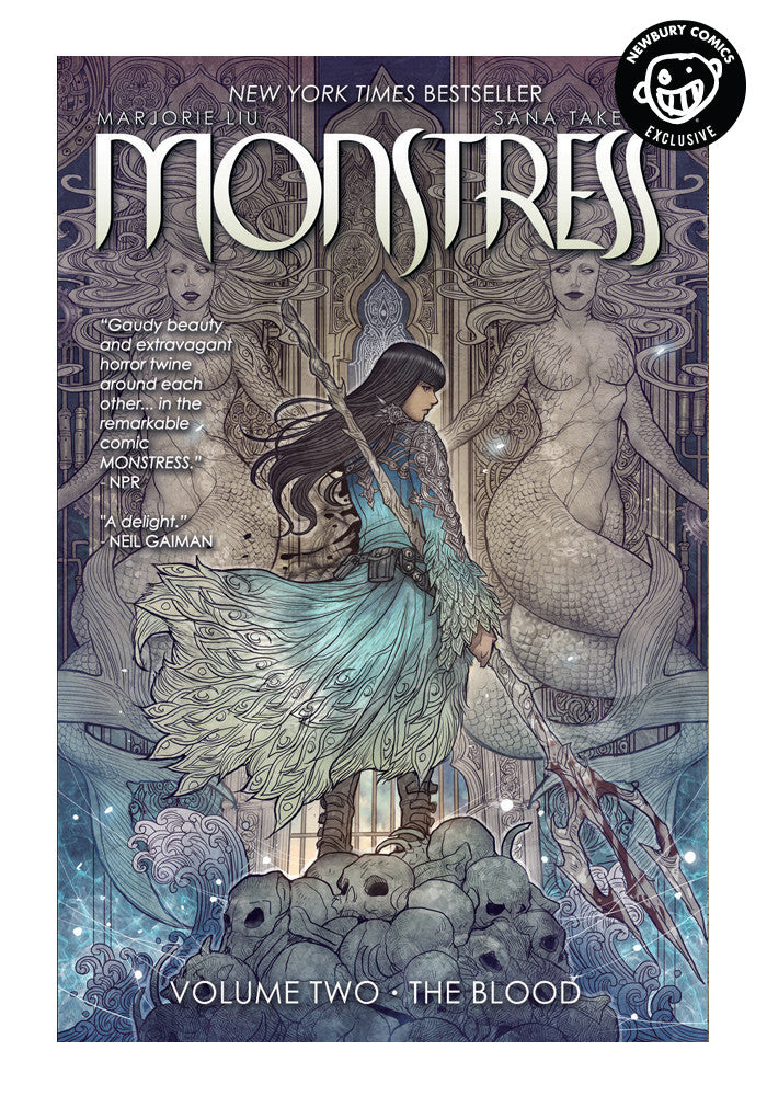 IMAGE COMICS Monstress Vol. 2 The Blood Exclusive Variant Graphic Novel