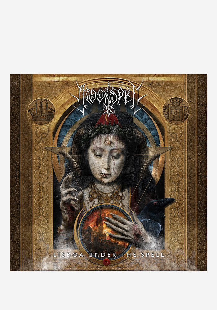 MOONSPELL Lisboa Under The Spell 3CD/DVD/BR With Autographed Booklet