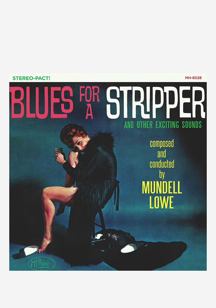 MUNDELL LOWE Blues For A Stripper LP