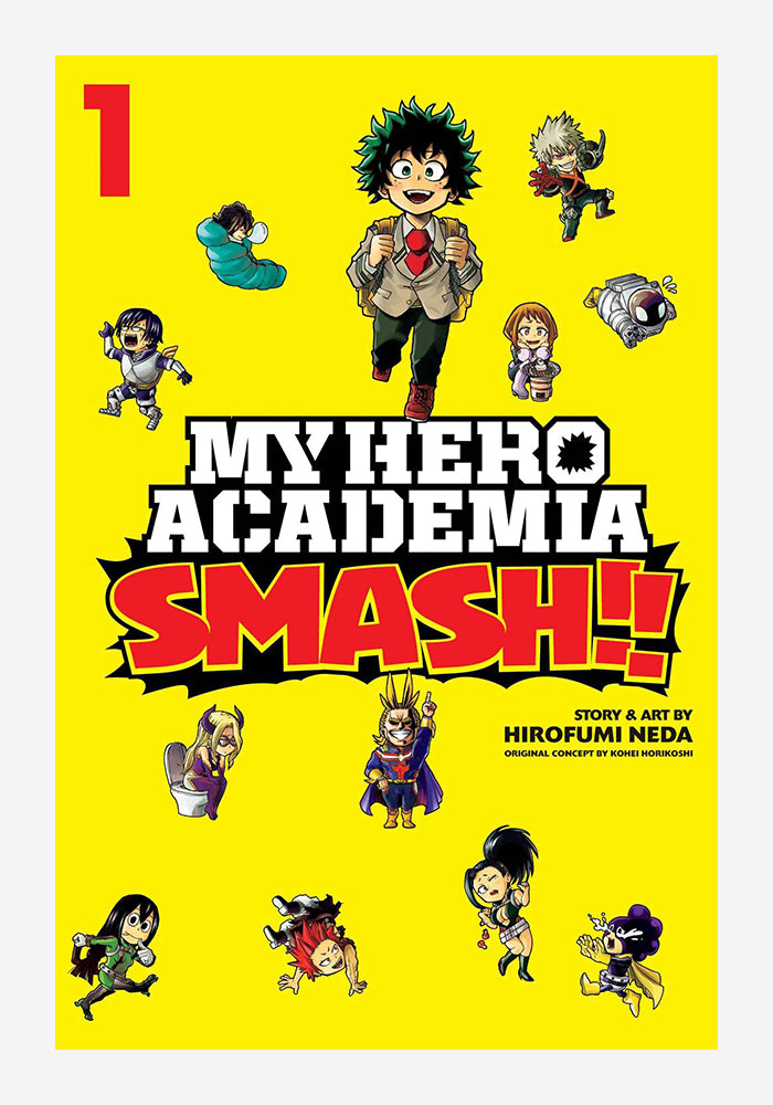 VIZ MEDIA My Hero Academia: Smash! Vol 1 Manga