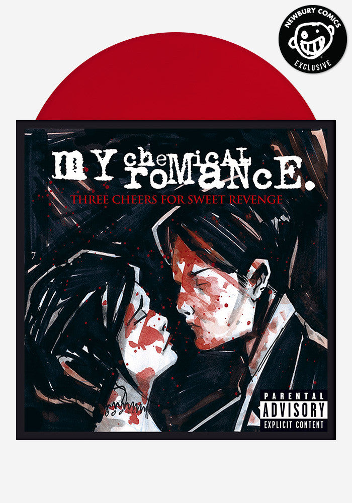 MY CHEMICAL ROMANCE Three Cheers For Sweet Revenge Exclusive LP